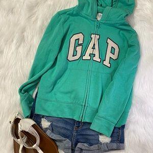 GAP - Full zip hoodie - Girls -Size 8